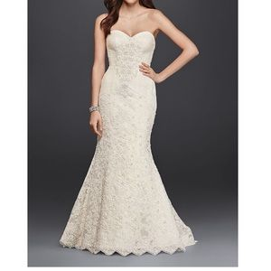 Oleg Cassini Mermaid Wedding Dress